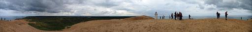 Panorama Rubjerg Knude Fyr, Nordjütland, Dänemark