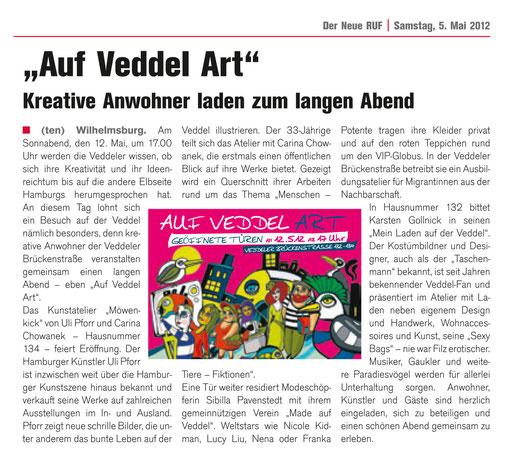"""Quelle: Lokalzeitung """"Neuer Ruf"""" 05_2012"""