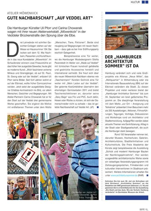 """Quelle: Magazin """"Wir gemeinsam"""" 06_2012"""