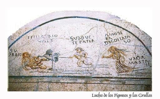 Mosaico Nilótico de Fuente Álamo