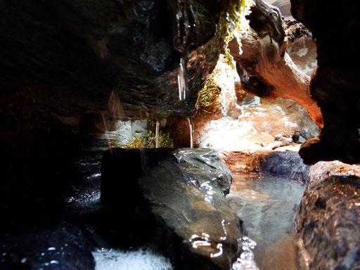 Wasserlauf/ Brunnen im Terrarium