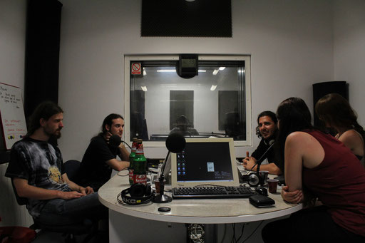 Interview @ Radio Pula