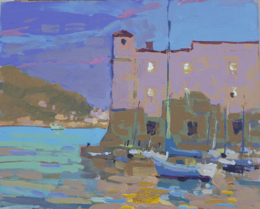 St Johns. Dubrovnick  Oil on panel