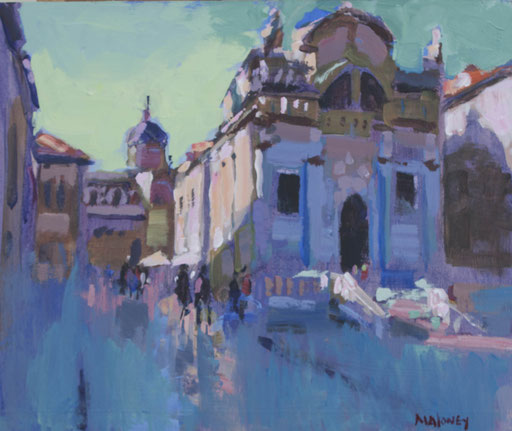 Dubrovnick   Oil on panel