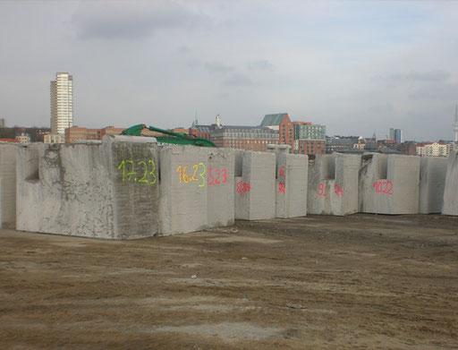 BSNG Betonbohr- & Sägetechnik Neustadt-Glewe - Seilsägen Kaimauer