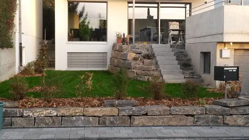 Fertigstellung Haus Teil ost