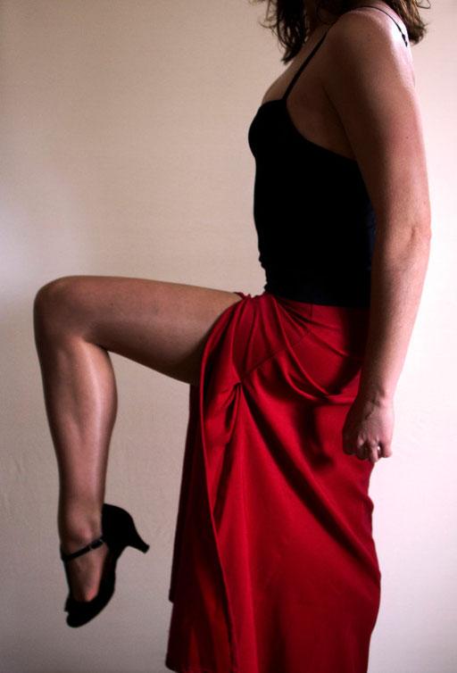 Danseuse, levée de jambe