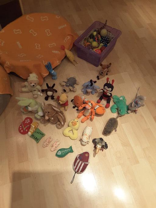 ... hab mein Spielzeug aufgelegt ... 6,4J