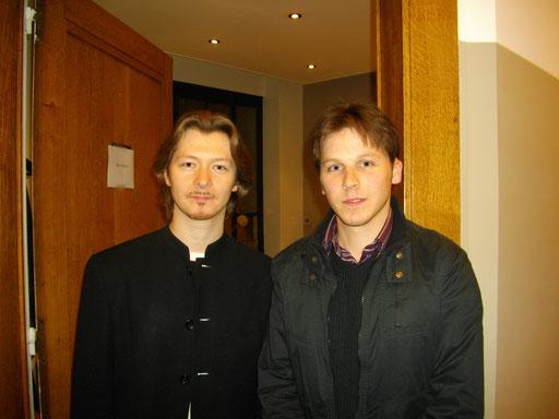avec Sergei Nakariakov