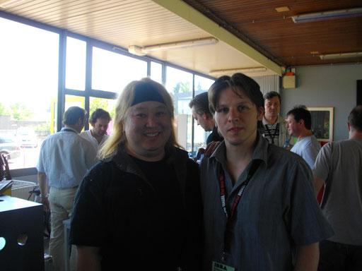 avec Eric Miyashiro