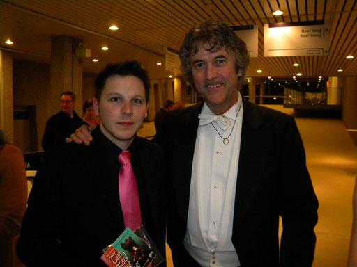 avec Johan de Meij en Belgique