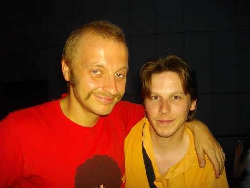 avec Thomas Ganch de Mnozil Brass