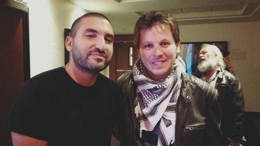 avec Ibrahim Maalouf