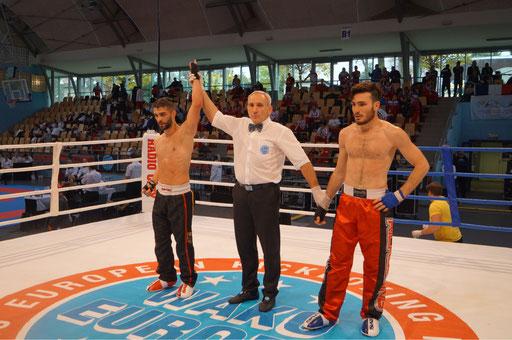 1/4 Finalsieg EM 2018 - Gegner Selcuk Avsar, Türkei