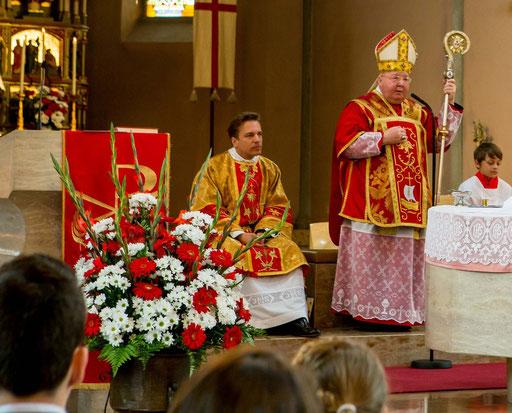 Firmung mit Bischof Wolfgang Haas