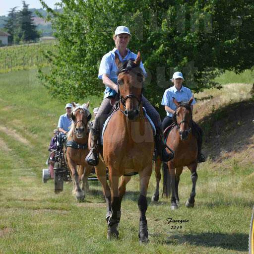 La Route Du Beaujolais 2015 - dimanche 24 mai 2015 - parcours en matinée - 71