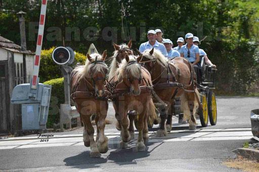 La Route Du Beaujolais 2015 - dimanche 24 mai 2015 - parcours et arrivée place d'un village - 02
