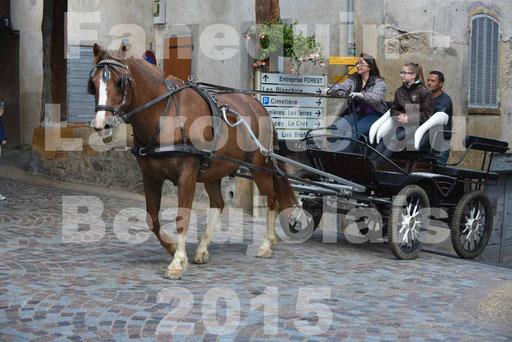 La Route Du Beaujolais 2015 - dimanche 24 mai 2015 - parcours et arrivée place d'un village - 26