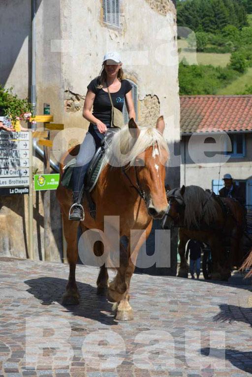 La Route Du Beaujolais 2015 - dimanche 24 mai 2015 - parcours et arrivée place d'un village - 74