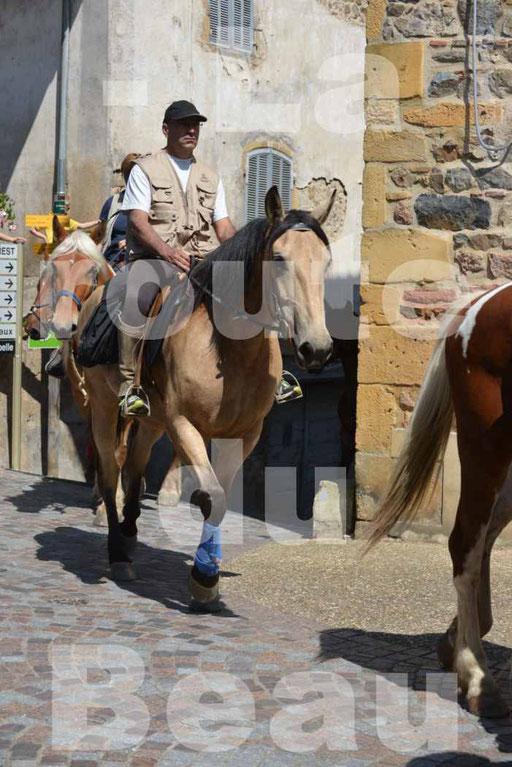 La Route Du Beaujolais 2015 - dimanche 24 mai 2015 - parcours et arrivée place d'un village - 43