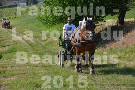 La Route Du Beaujolais 2015 - dimanche 24 mai 2015 - parcours en matinée - 37