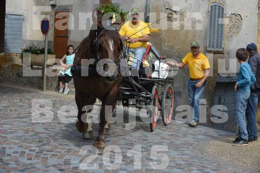 La Route Du Beaujolais 2015 - dimanche 24 mai 2015 - parcours et arrivée place d'un village - 31
