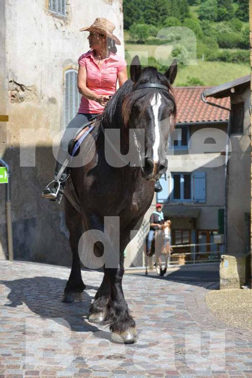 La Route Du Beaujolais 2015 - dimanche 24 mai 2015 - parcours et arrivée place d'un village - 61
