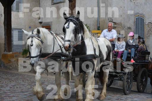 La Route Du Beaujolais 2015 - dimanche 24 mai 2015 - parcours et arrivée place d'un village - 08