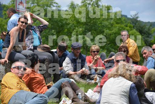 La Route Du Beaujolais 2015 - dimanche 24 mai 2015 - pause déjeuner - 07