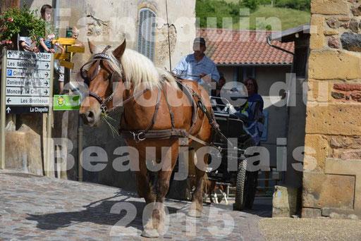 La Route Du Beaujolais 2015 - dimanche 24 mai 2015 - parcours et arrivée place d'un village - 36