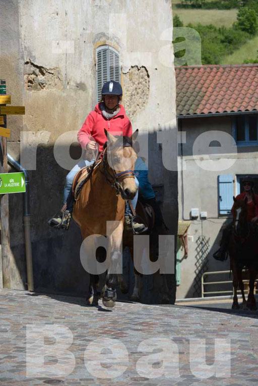 La Route Du Beaujolais 2015 - dimanche 24 mai 2015 - parcours et arrivée place d'un village - 63