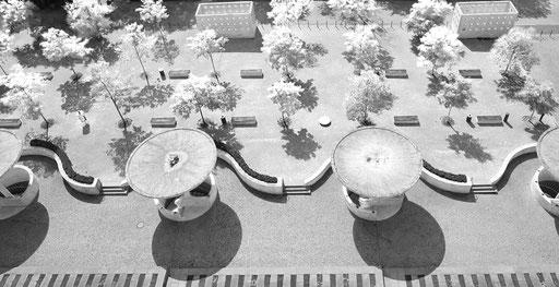 Luftaufnahmen, Architektur aus der Luft, Weimar