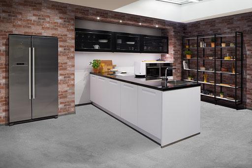 Werbefotografie Küche Bildmontage