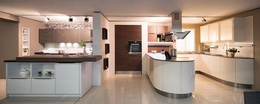 Küchen und Verkaufsräume