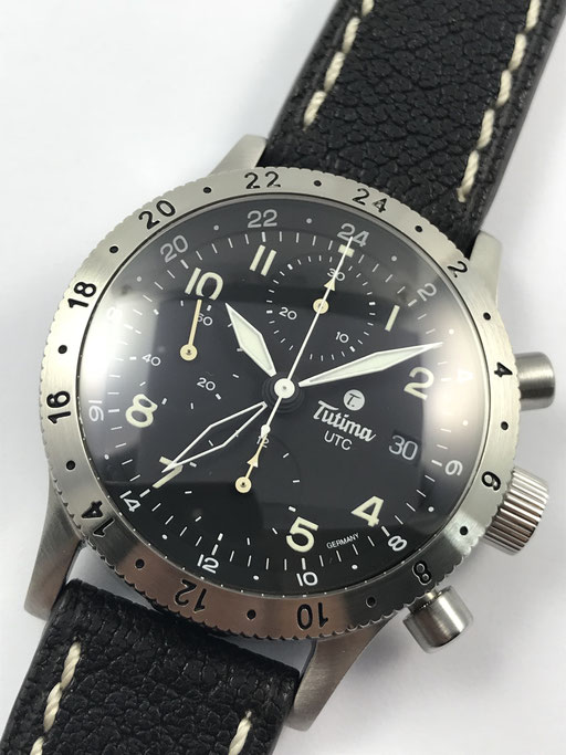 TUTIMA FX UTC CHRONOGRAPH REF.: 740-51 FULL SET