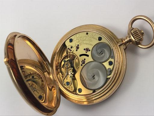 """Archiv: Lange & Söhne sogn """"Ankerchronometer"""" Caliber 47 von 1897"""
