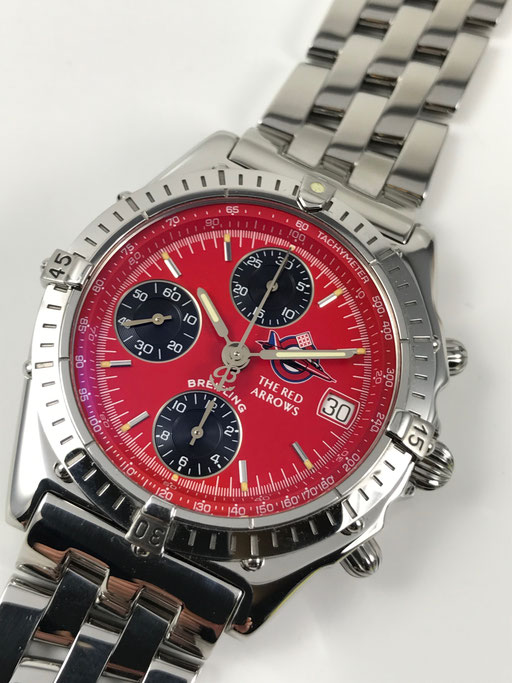 LIMITIERTER BREITLING CHRONOGRAPH CHRONOMAT THE RED ARROWS