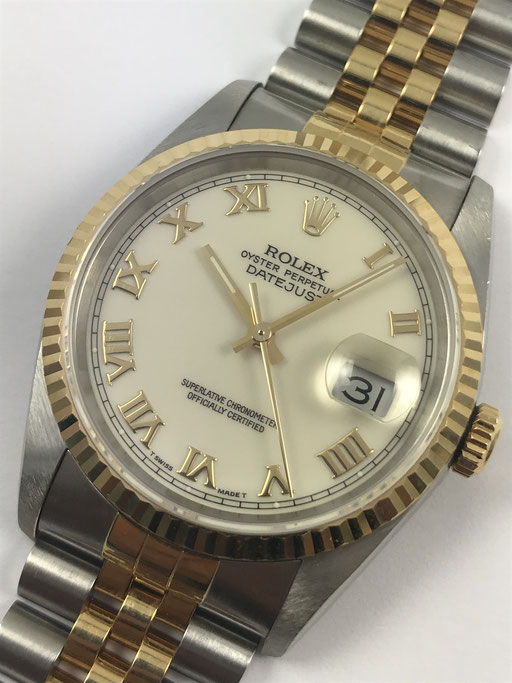 ROLEX DATEJUST REF.: 16233 VON 1992 - FULL SET