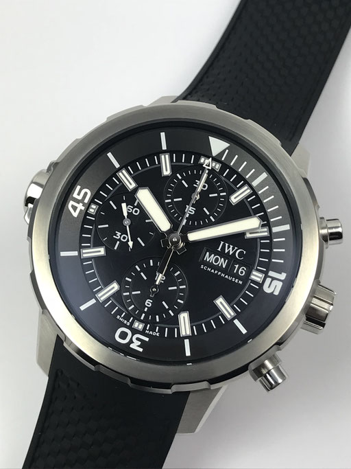 IWC AQUATIMER CHRONOGRAPH REF IWIW376803 FULL SET AUS 8/16