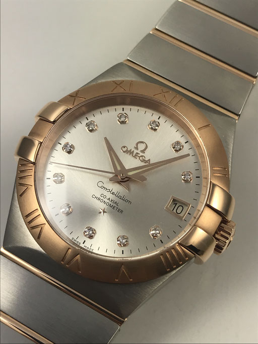 OMEGA CONSTELLATION CO-AXIAL 35MM UNGETRAGEN REF:12320352052001  VON 9/17