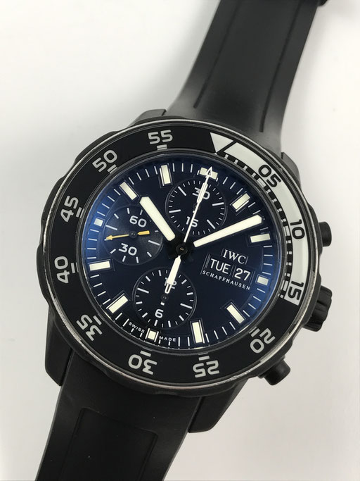 IWC AQUATIMER GALAPAGOS ISLANDS CHRONOGRAPH REF:IW376705