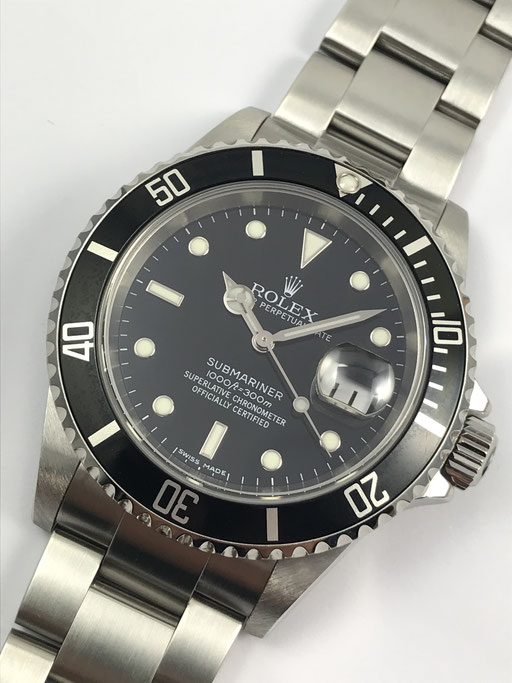 ROLEX SUBMARINER REF 16610 FULL SET Z-SERIE VON 2006