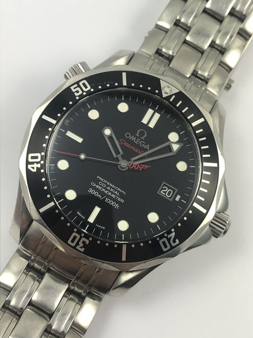OMEGA SEAMASTER CHRONOMETER JAMES BOND LIMITIERT REF.: 212.30.41.20.01.001 - FULL SET