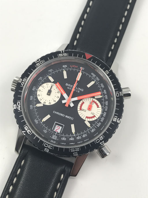 BREITLING CHRONO-MATIC CAL.11 VINTAGE CHRONOGRAPH VON 1969 REF:2110