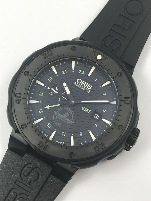 ORIS FORCE RECON GMT AUTOMATIK FULL SET AUS 12/15 -  MARINE CORPS USA