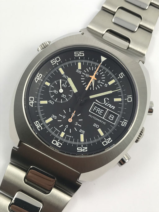 SINN VINTAGE 142 B SPACELAB TRITIUM CHRONOGRAPH FULL SET VON 1995
