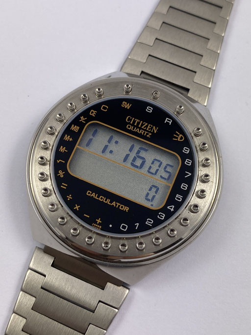 VINTAGE NOS - NEW OLD STOCK CITIZEN CALCULATOR LCD REF.: 49-9315 / 80ZIGER JAHRE