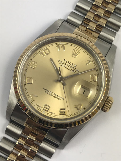 VINTAGE ROLEX DATEJUST REF: 16233 FULL SET VON 1991