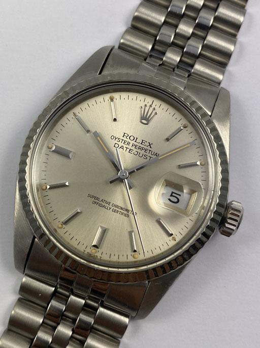 VINTAGE ROLEX DATEJUST TRITIUM REF.: 16014 VON CA. 1982