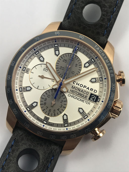 LIMITIERTE CHOPARD MONACO HISTORIQUE REF: 161294-5001 IN 750 GOLD FULL SET AUS 2016